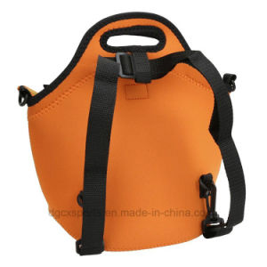 Waterproof Neoprene Insulated Carrying Lunch Tote Bag for Kids pictures & photos