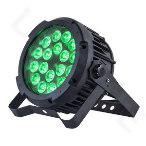 18X18W Rgbaw+UV 6in1 Outdoor LED PAR 64 Stage Light pictures & photos