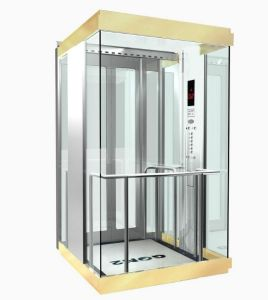 Passenger Elevator Sightseeing Residential Panoramic Elevator with Low Noise pictures & photos