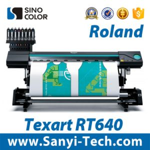 Single Dx7 Head Waterbased Printer Roland Rt-640 pictures & photos