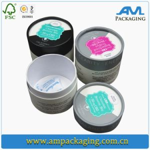 Round Laminated Custom Rigid Paper Chocolate Tube Packaging pictures & photos