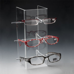 Clear Acrylic Eyeglass Display Stands, Plexiglass Sunglass Display pictures & photos