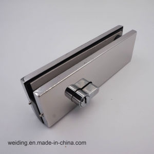 Stainless Steel Polish Glass Door Lock Clamp pictures & photos