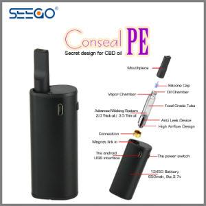 2017 New Cbd Oil Atomizer Vape Seego Conseal PE Vape Kits pictures & photos