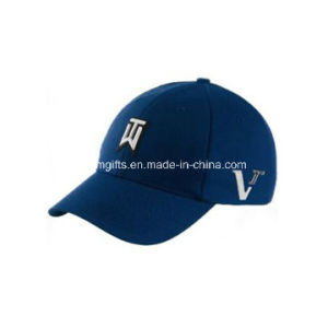 Plain Embroidery Cotton 6 Panel Custom Baseball Cap pictures & photos