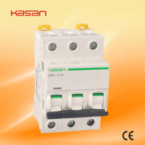 New Type IC60 (KIC60N) 230V/415V 1p 16A Mini Circuit Breaker pictures & photos