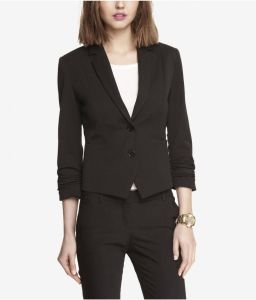 Made to Measure Fashion Black Pant Suit for Ladies pictures & photos