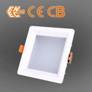 Hot Selling 125mm Dimension Perforate 10/20/30W LED Square Down Light pictures & photos
