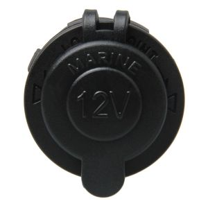 DC12V-24V Car Charge Socket with Waterproof Cap pictures & photos