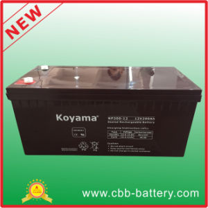 New Product 200ah High Quality 12V Np200-12 Rechargeable Battery pictures & photos