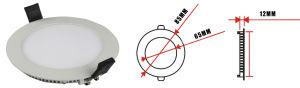 Ultra Slim Round LED Panel with 3years Warranty 3W/6W/9W/12W/15W/18W/24W pictures & photos