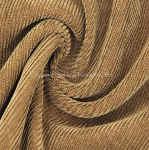 16W Velvet Corduroy Fabric for Sofa Uphosltery Furniture Shoe pictures & photos