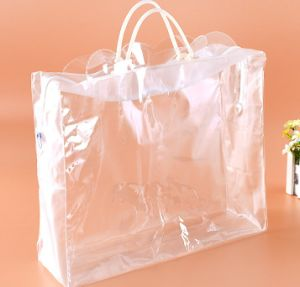 Creative Three - Dimensional Plastic Bag Cosmetic Gift Zipper Bag pictures & photos