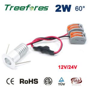 2W 12V 24V COB Mini LED Downlight Light pictures & photos