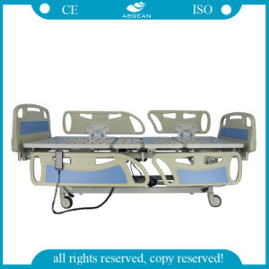 Five Function ABS New Material 1.2mm Patient Bed (AG-BY005) pictures & photos