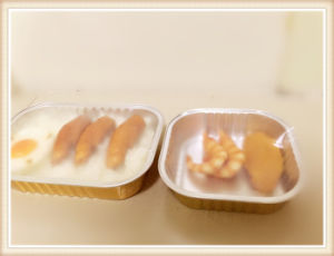 Smoothwall Disposable Aluminium Foil Food Containers for Microwave Oevn pictures & photos