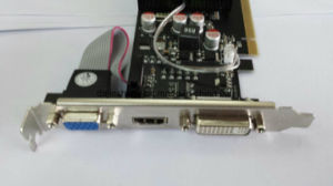 Geforce Gt 610 Lp 64bit DDR2 Video Card with 1GB Memory pictures & photos