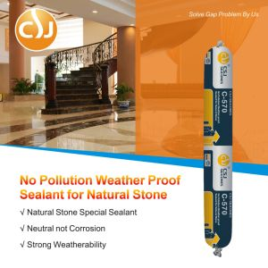 Good Adhesion Weather-Proof Cheap Silicone Sealant Non-Pollution for Stone pictures & photos