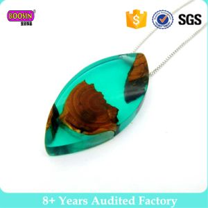 High Quality Handmade Jewelry Resin Wood Necklace pictures & photos