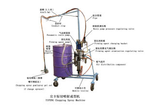 Spray Machine of Making End Enclosure for Fiberglass Tank pictures & photos