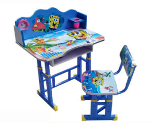 School Furniture Modern Adjustable Study Table Kids Student Desk (HX-SK014) pictures & photos