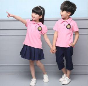 Kindergarten School Uniform Polo Shirts, Nursery School Uniforms Pants and Skirts pictures & photos
