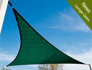 UV Protection Polyester Netting Shade Sail pictures & photos