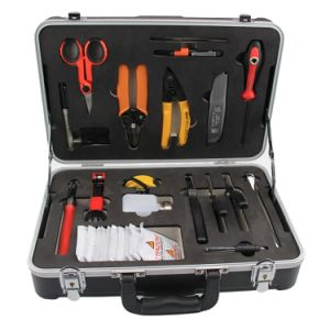 Fiber Optic Tool Fiber Fusion Splicing Tool Kit pictures & photos