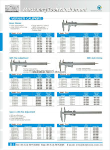 Vernier Calipers with Auto Clamp pictures & photos