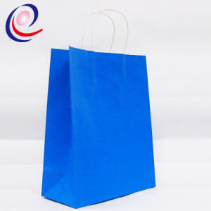 Custom Order Recyclable Feature Luxury Kraft Paper Shopping Bag