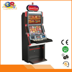 Upright Metal Video Electronic Arcade Slot Game Machine Cabinet for Sale pictures & photos