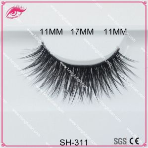 Hot Selling Thick Soft Natural Artificial Mink Eyelashes pictures & photos