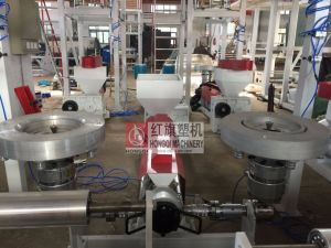 Double Die Head High Productivity Film Blowing Machine pictures & photos