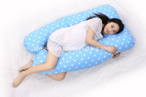 U-Type Shape Maternity Pillow with PP Cotton Filling pictures & photos