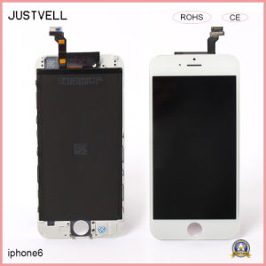 OEM LCD Touch Screen for iPhone 6 Display Metal Frame pictures & photos
