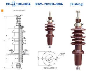 Factory Price for Transformer Bushing Insulator 10kv/20kv pictures & photos