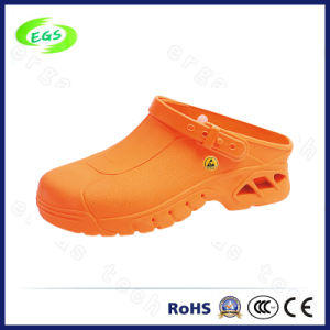 Hot Selling Orange Work Shoes Casual Slippers pictures & photos