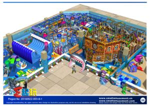 TUV Proved Indoor Playground Equipment with Inflatable pictures & photos