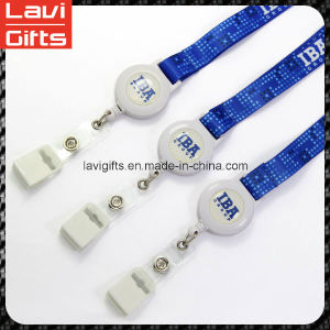 Promotion Customized Neck Retractable Lanyard pictures & photos
