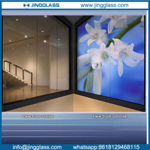 Safety and Sound Insulation One Way Mirror Glass Manufacture pictures & photos