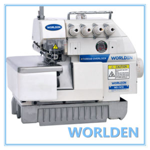 Wd-747D Direct Drive Overlock Sewing Machine pictures & photos