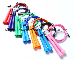 High Quality Stainless Steel Wire Bearing Skipping Rope pictures & photos