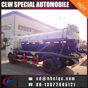 Dongfeng 6m3 Vacuum Sewage Truck Vacuum Pump Tank Truck pictures & photos