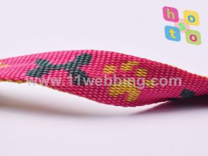 Jacquard Polypropylene Webbing for Pet Leashes and Dog Collar pictures & photos