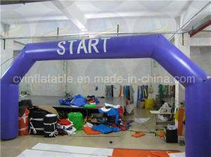 Cheap Inflatable Start Line Arch, Inflatable Advertising Rental pictures & photos