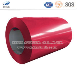 Embossed O Prepainted Galvanized Steel Coil of Hfx-Steel pictures & photos