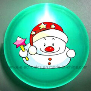 Christmas Gifts PS Flashing LED Badge with Logo Printed (3569) pictures & photos