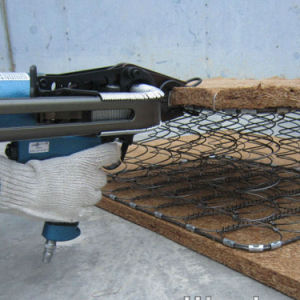 C24 Hog Ring Staples for Gabion Assembly pictures & photos