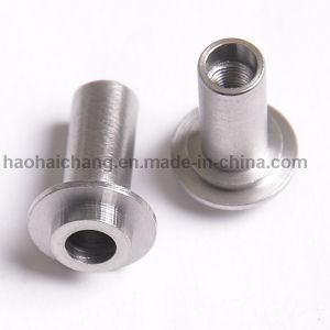 OEM Nonstandard Stainless Steel Slotted Bushing for Auto Spare Parts pictures & photos