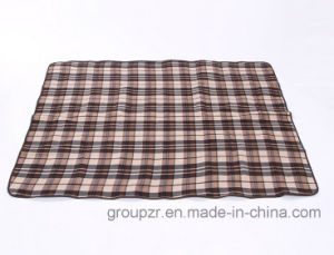 Camping Mat Picnic Mat with Check Pattern pictures & photos